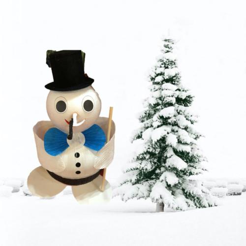 Snowman box - 10 pc