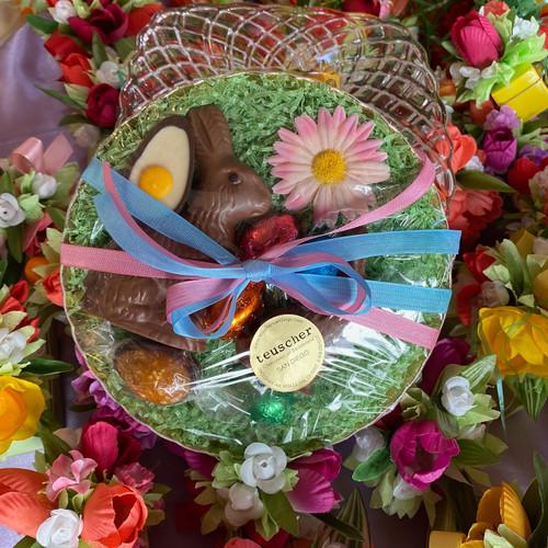 Easter NEST with teuscher goodies