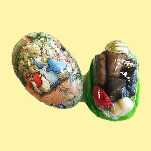small Nostalgia Egg with a chocolate assortment