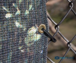"""Industrial Outdoor UV Privacy Screen Fastener - 8"""" (L8) - 100ct"""