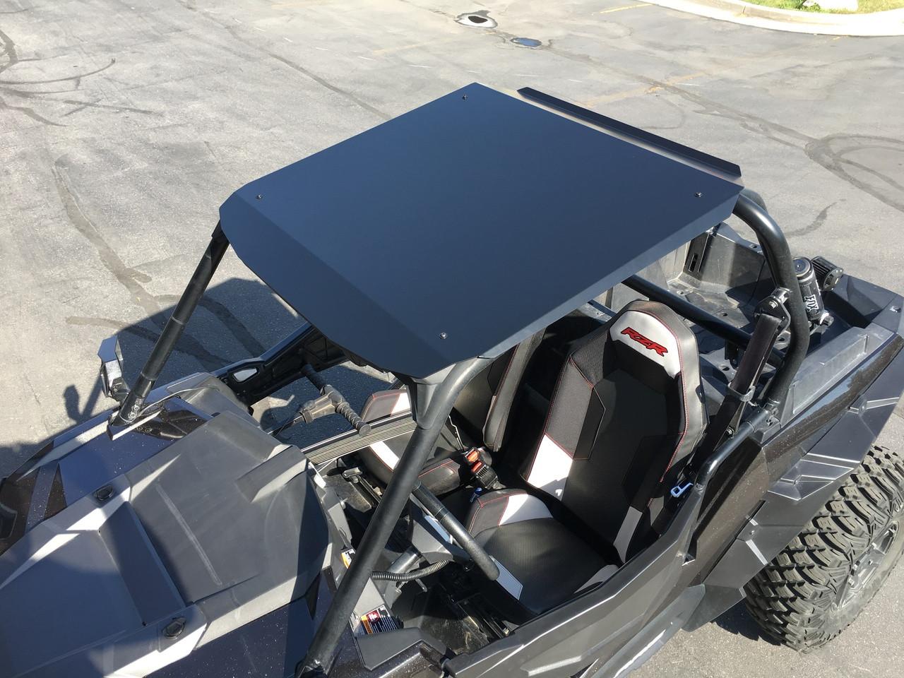 KUAFU Aluminum Roof Fit for Polaris RZR 900 900S 1000S XP1000 Turbo 2015-2019 2 Door Model Low Profile Black Powder Coat