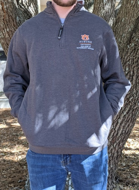 Charles River Embroidered Quarter Zip