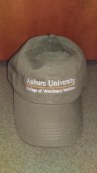 AUCVM Line Design Hat: Olive