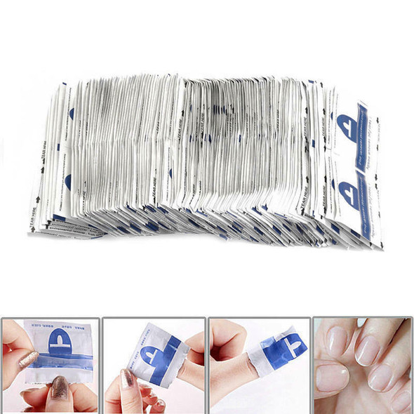 200Pcs Nail remover Disposable Resurrection Towel Polish batch resurrecti QRT