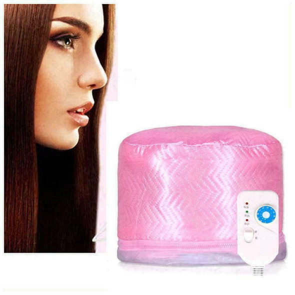 Electric Heating Cap Thermal Treatment Steamer Hair Q9I6 CapNice Care C6E0