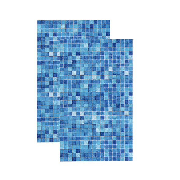 2 X Kitchen Bathroom PVC Tiles Mosaic Self Adhesive Wall Paper for Bedroom Hot