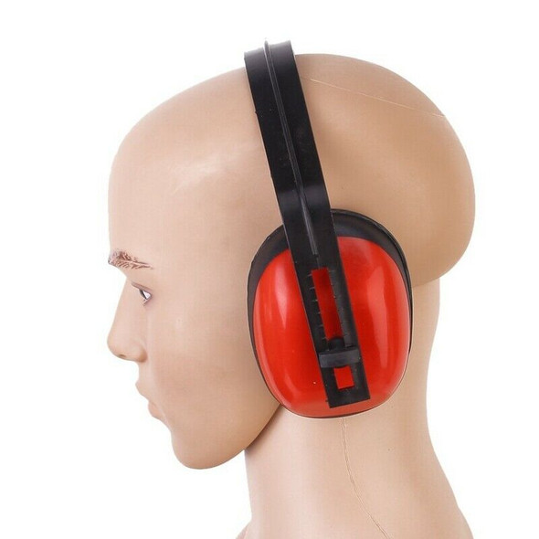 Anti noise Headset Red Foam Noise Reduction Ear Protection C9Q6