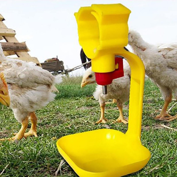 10Pcs Poultry Chicken Hanging Duck Drinking Water Nipple Drinker Feeder WLA
