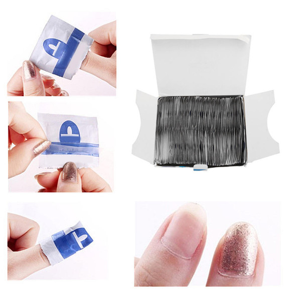 Nail remover 200Pcs Disposable Resurrection Towel Nail Polish batch resu ZSQ