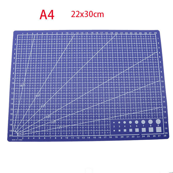22 x 30cm / Patchwork Anti Cutting Board Cutting Plate Engraving Plate Supp P4K4