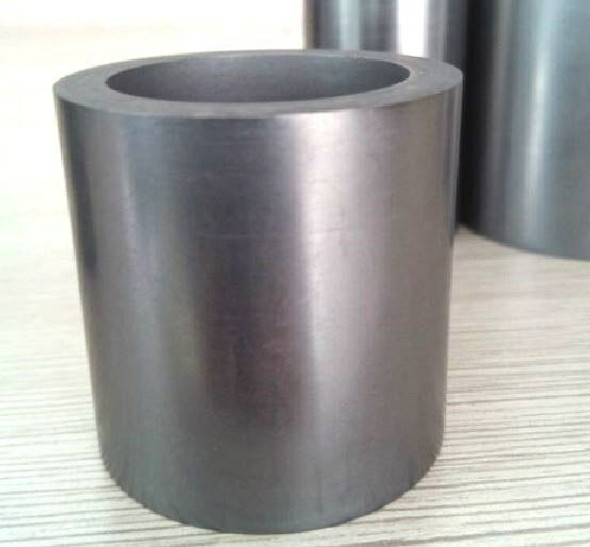 99.9% 50X50mm Graphite crucible fine particle 50ml appr melting crucible