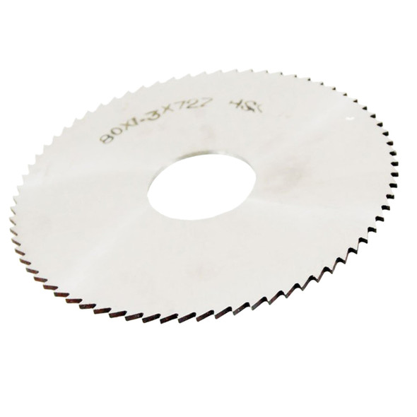 80mm OD Thickness 1.2mm HSS 72T Slitting Saw Blade Cutting Tool C5A9