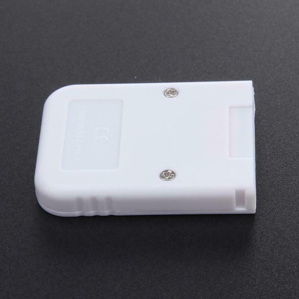 16MB White Memory Card compatible for Wii & Gamecube Console R3F3