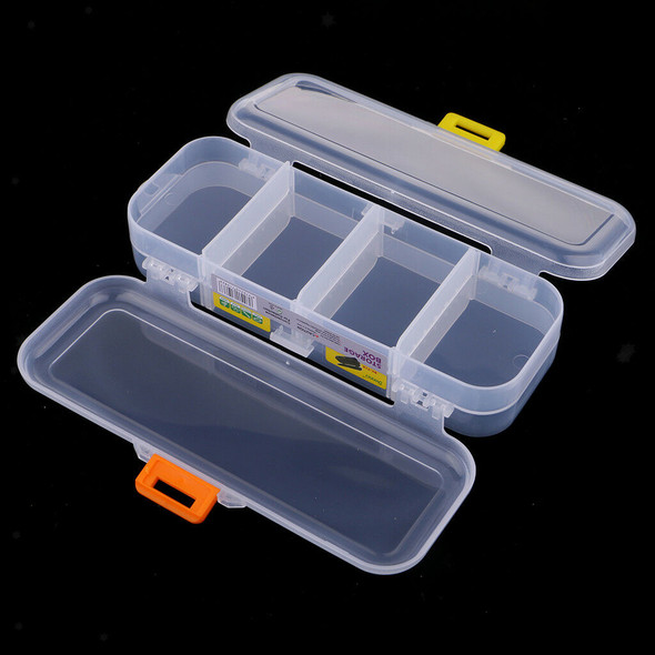 Plastic Bead Small Parts Organizer Storage Box Container Craft Case for Pens