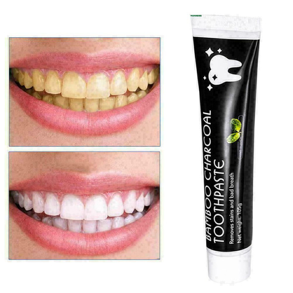Tooth Bamboo Natural Activated Charcoal Teeth Whitening Toothpaste Oral Car S8O1