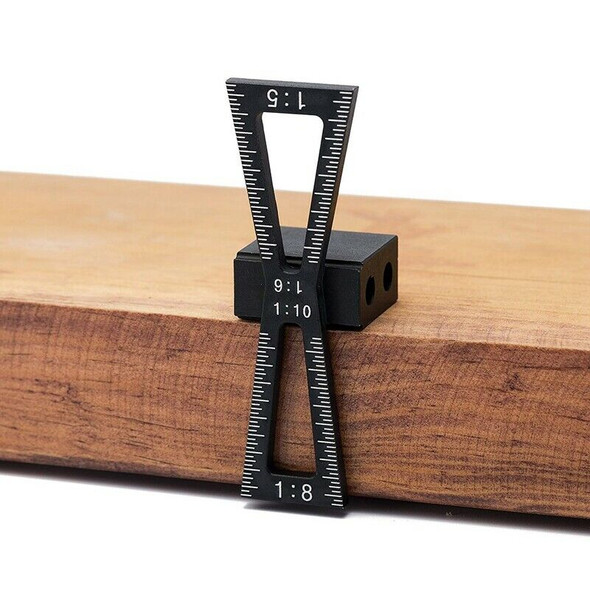 Dovetail Marker,Dovetail Marking Gauge with Scale,Dovetail Jigs Hand Cut Jo I9B8