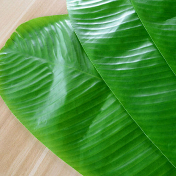 4PCS Heat-Resistant Placemat Banana Leaf Waterproof Dining Table Mat for Home