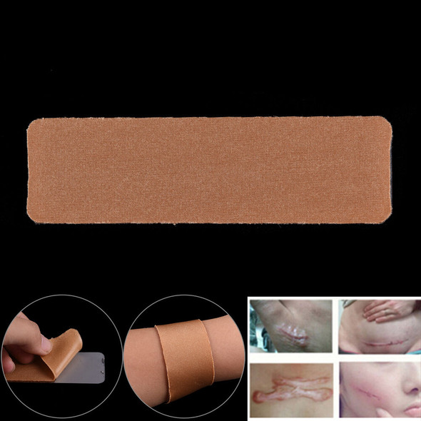 Nude Scar   Remove Trauma Burn Silicon Patch Reusable Acne Gel SkinRepa IO BX FT