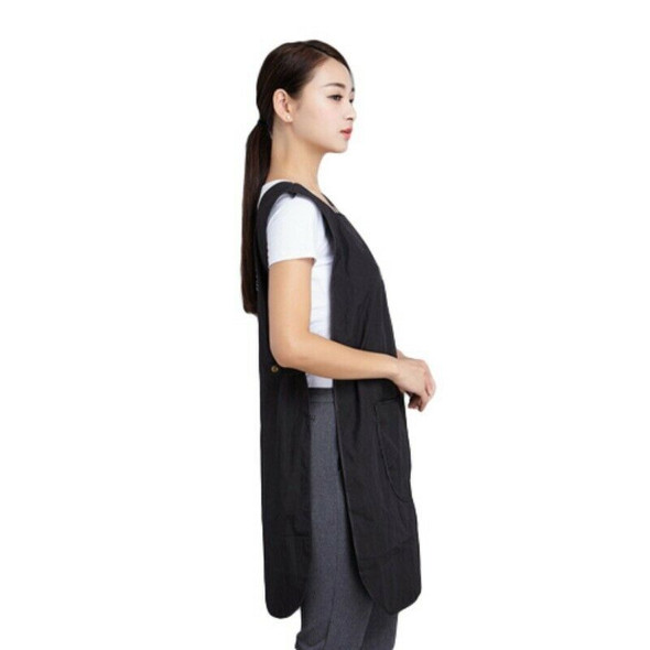 Red Women Salon Hairdressing Hair Cutting Apron Cape for Barber Hairstylist J8E9