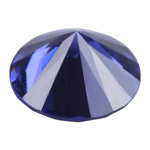 Blue Tanzanite Unheated 12mm Top Round Shape AAAA+ Loose Gemstones Jewellery