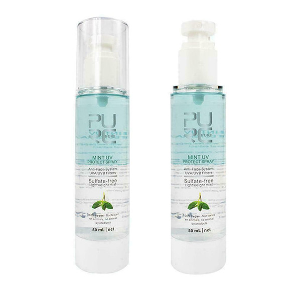 Mint UV Protect Spray Against UV Protect Damaged Frizzy Replenishes and I6B6