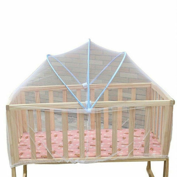 1 x Baby Cradle Bed Mosquito Nets Summer Baby Safe Arched Mosquitos Net, Ra O7O1