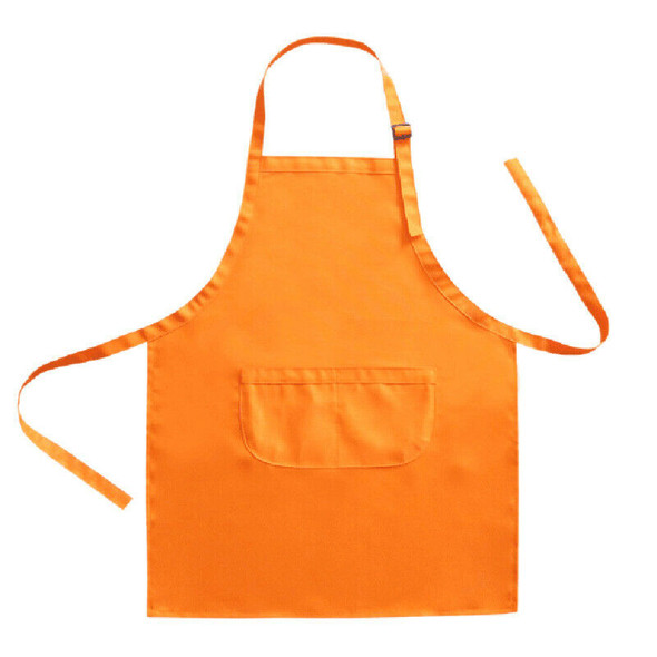 Children's Waterproof Painting Apron Set with Hat Baking Apron Cooking Apro F6I1