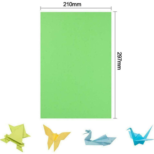 20pcs A4 Coloured Card Craft Sheets For Cardmaking, Paper Crafts & Scrapboo P1W6