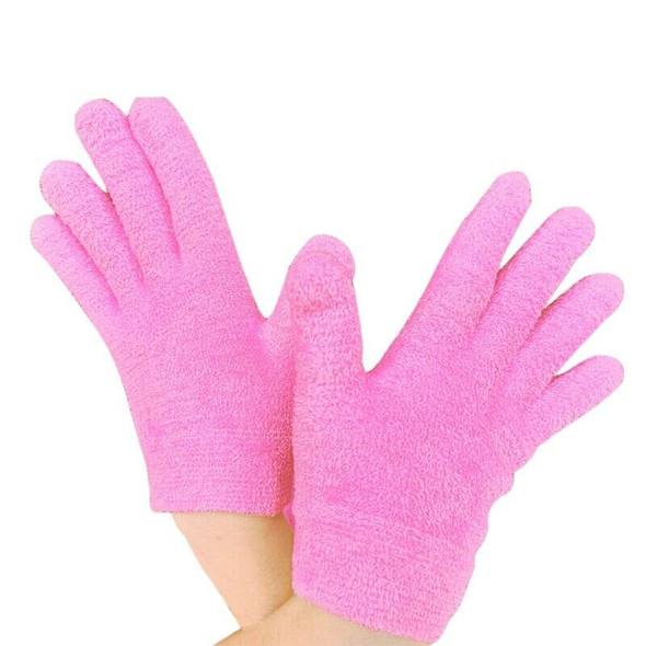 Moisturizing Gloves Gel Lining Cotton Glove with Essential Oils and Vitamin U8P6