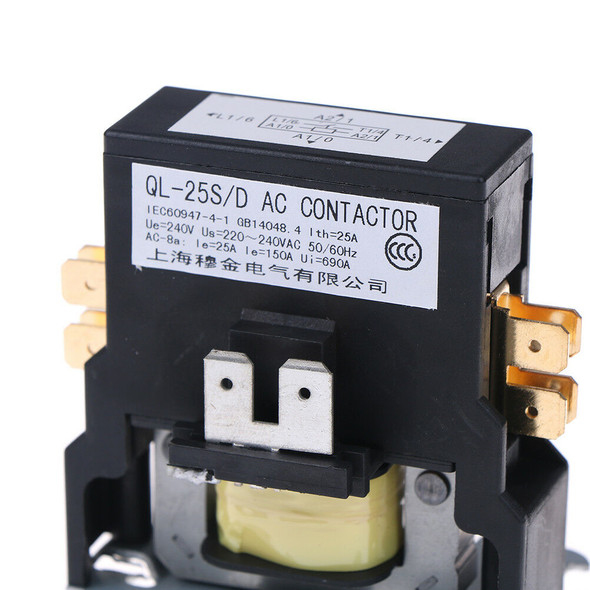 Contactor single one 1.5 Pole 25 Amps 24 Volts A/C air conditioner FT