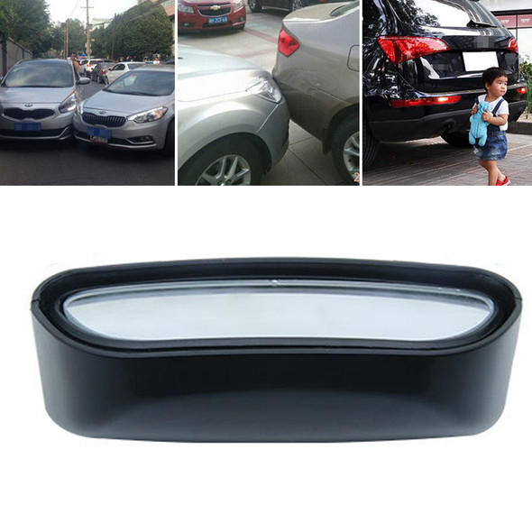 2x Wide Angle Convex Car Blind Spot Stick-On Side View Rearview Auxiliary Mirror