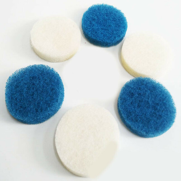 6-Pack Drill Brush Scrub Pad Spin Scrubber For Tile, Sink, Water Spot, Fibe G6W3