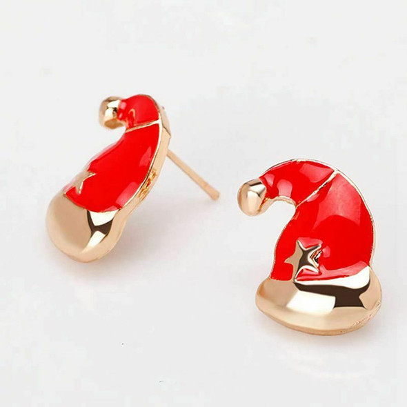 7 Pairs Christmas Earrings Cute Xmas Style Stud for Women Gift Z3I4