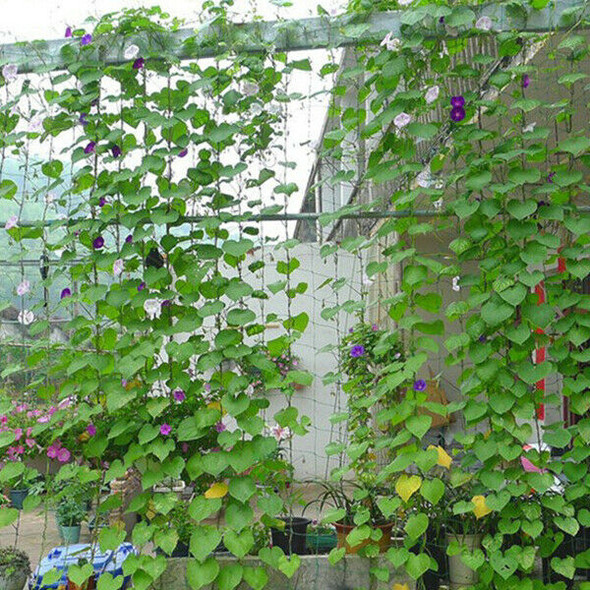 Garden Green Nylon Trellis Netting Support Climbing Plant Nets Grow Fence U6K9