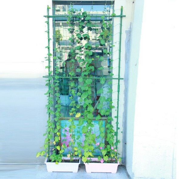Garden Green Nylon Trellis Netting Support Climbing Plant Nets Grow Fence P9C1