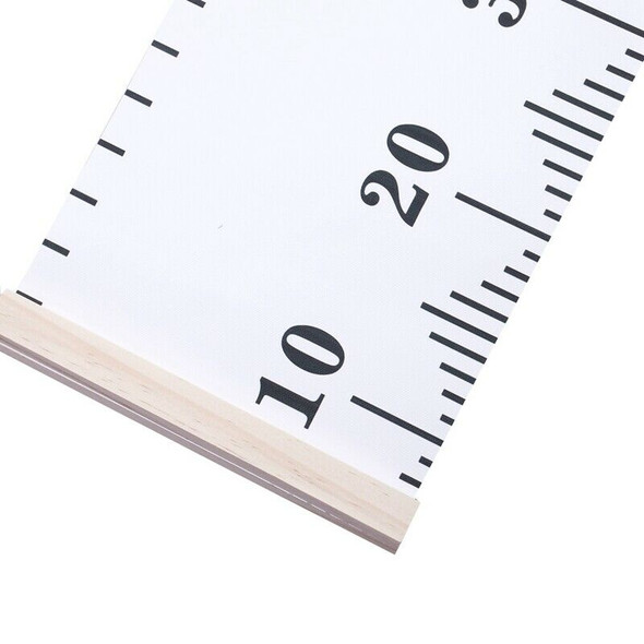 Baby Growth Chart Handing Ruler Wall Decor for Kids, Canvas Removable Heigh E3R6