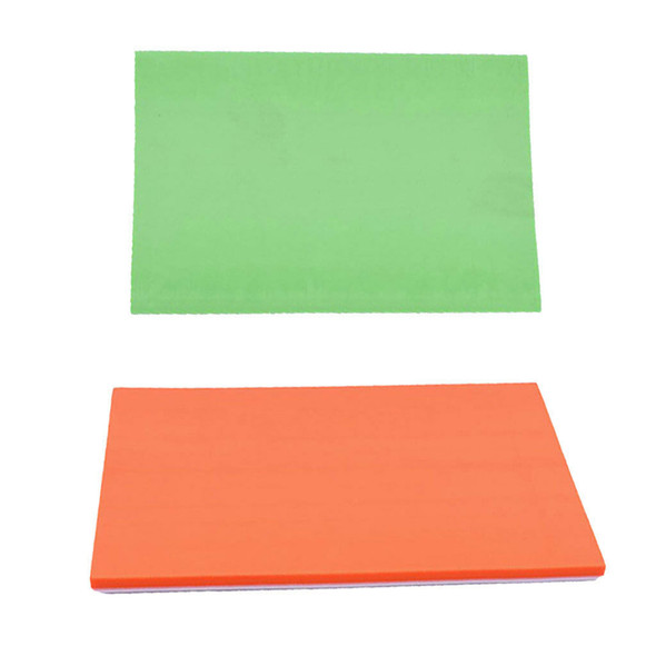 2Pcs Rubber Carving Blocks DIY Your Own Rubber Stamps 15x10x0.6cm