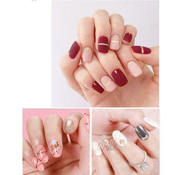 10pcs Women Nail Art Set Rhinestones Decoration Nail Nail Hot DIY Brush S5W2
