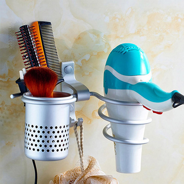 1x Hair Dryer Straightener Holder Rack Stand Storage Holder Bathroom Durable