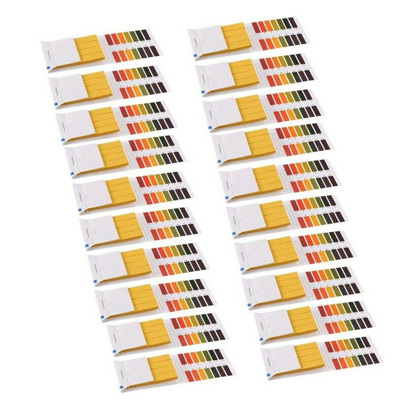 Ph Test Strips 1-14 in dicator Paper Lab Litmus Test 80 in 1 Kit for Water  B2N2