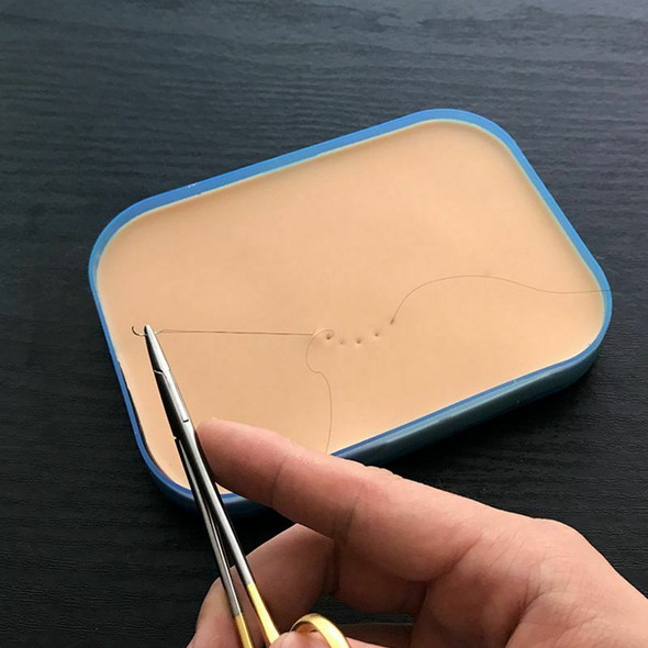 Medical Surgical Incision Silicone Suture Training Pad Practice Human Skin  G9K4