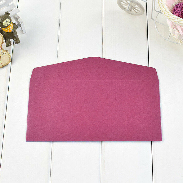 11x22Cm 30Pcs Classical Kraft Envelopes European Retro Paper Envelope Blank B1P5