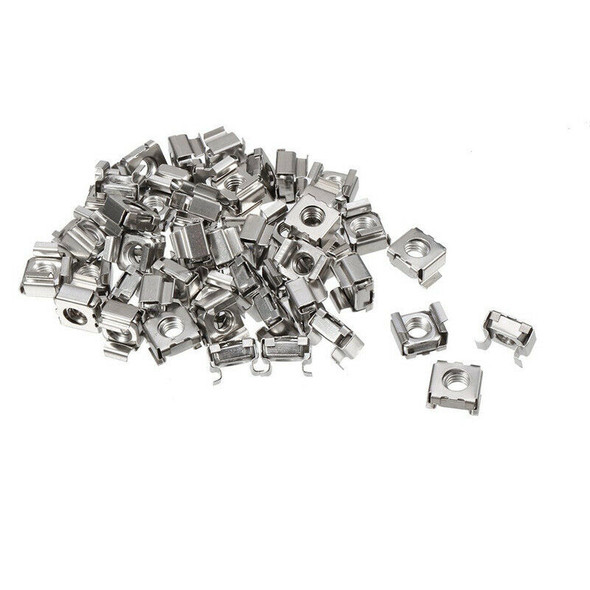 35 pcs 304 Stainless Steel M5 Mounting Cage Nut for Server Shelf Cabinet R7O5