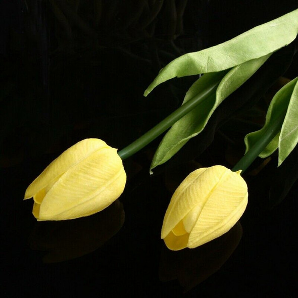 20pcs Tulip Flower Latex Real Touch For Wedding Decor Flower Best Quality K E5X7