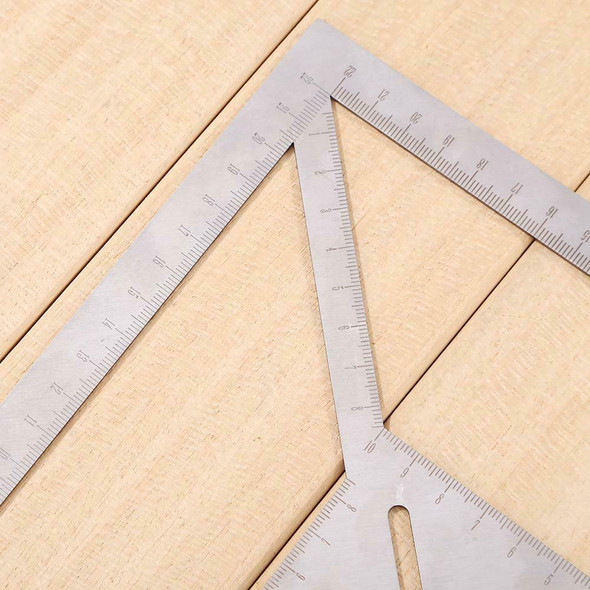 Multi-use Measuring Ruler Speed Square Roofing Triangle Angle Protractor #JT1