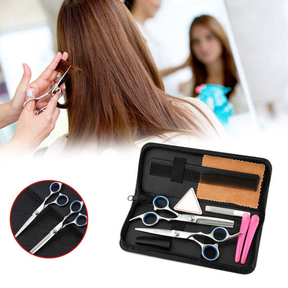 """6"""" Professional Hairdressing Scissors Set Japan Hair Cutting Thinning Shears ghh"""
