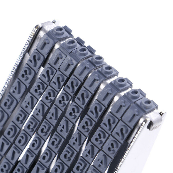 8 digit english alphabet letter number symbol rolling rubber stamp decoration 3C