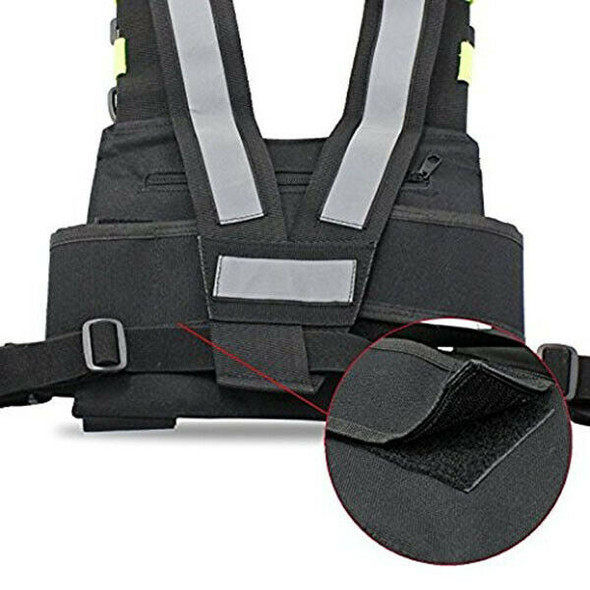 Radios Pocket Radio Chest Harness Chest Front Pack Pouch Holster Vest Rig C V8R1
