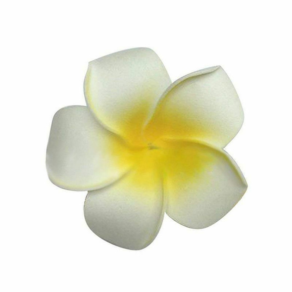 100pcs Frangipani Hawaii Flower Head Foam Decor for Wedding Craft Style Flo Y5S8
