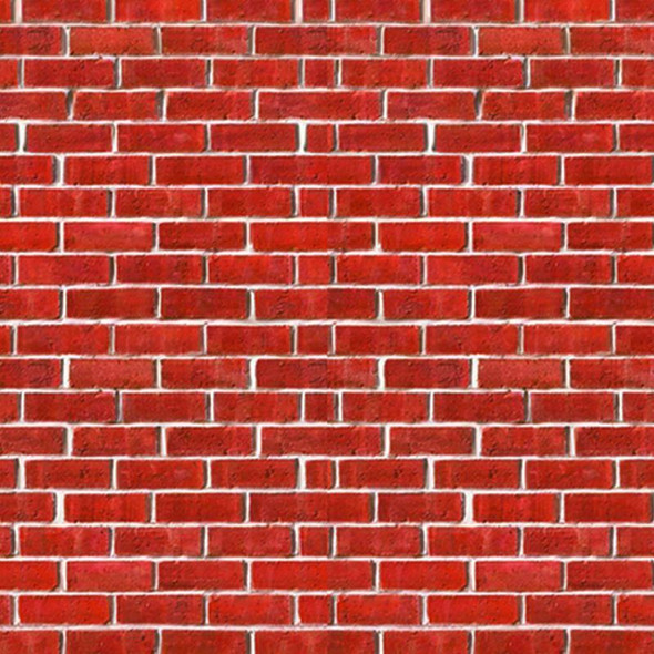 Brick Wall Backdrop Party Accessory (1 count) (1/Pkg) A2M1